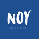Inrichting en huisstijl voor NOY steaks & sushi