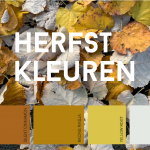 Herfstkleuren; de inspiratie ligt op straat